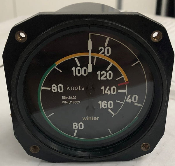 Air Speed Indicator 6FMS423 (Pre-owned) SN:113657