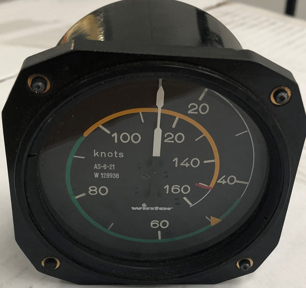 Air Speed Indicator 6FMS423 (Pre-owned) SN:128938