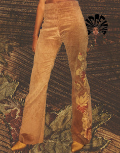 Corduroy Bell Bottom Pant