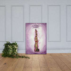 Healing Crown Chakra Flow Canvas
