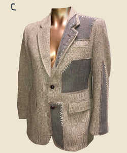 Reimagined Suit Jacket (Size Small)