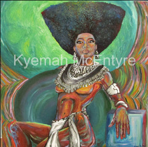 "Original Painting ""Queen"""