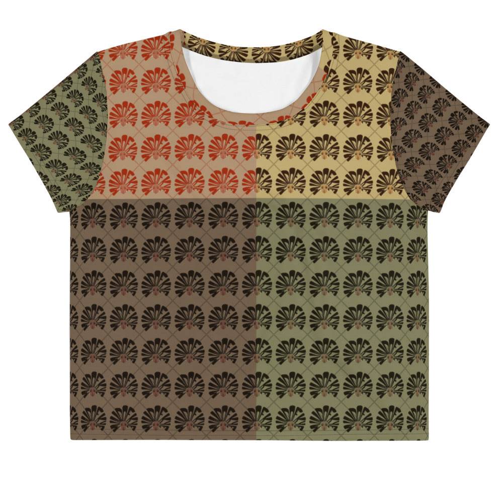 Mind Of Kye Multi-color Logo Crop Tee