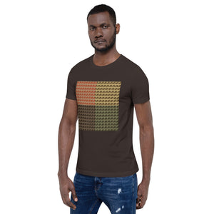 Multi-color Mind Of Kye Logo Short-Sleeve Unisex T-Shirt