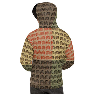 Unisex Hoodie (Mind Of Kye Multi-color Logo Pattern)