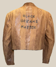 'Black Dreams Matter' Cropped Blazer