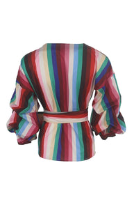 Multi Stripe Wrap
