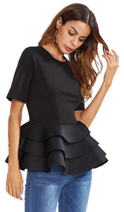 Tiered Peplum