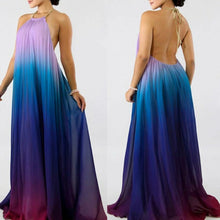 Mood Ombre Pleated Maxi