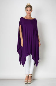 Hi Low  Poncho Top