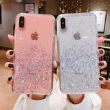 Night Shining Glitter Case Sequin iPhone Case