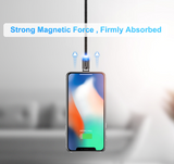 LED Magnetic Cable For Lightning Type C Phone Cable 1m 2A Fast Charge Magnet Charger - Expressdeal.net