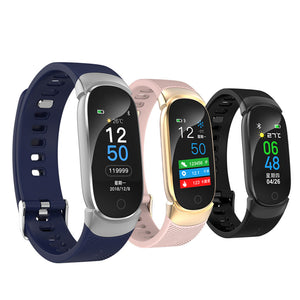 QW16 Smart Watch Bracelet Fitness Tracker Band 3 Heart Rate Monitor Waterproof
