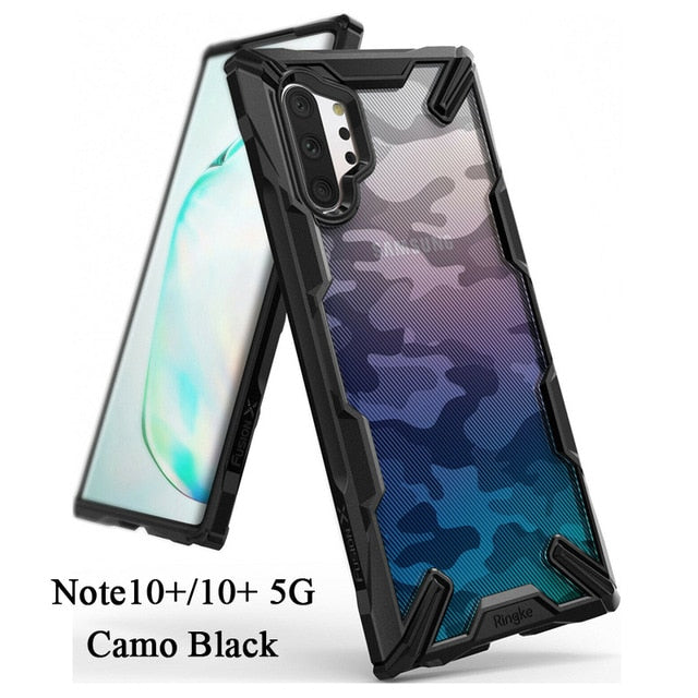 Ringke Fusion X  for Galaxy Note 10 Plus Case  Shock Absorption Transparent - Expressdeal.net