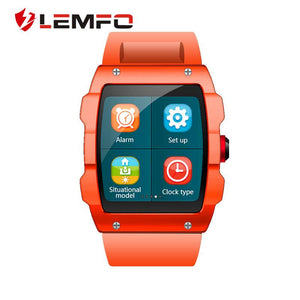 LEMFO V18 GPS Smartwatch Support File management Sleep monitor Sedentary reminder Pedometer Smart Watch for IOS and Android - Expressdeal.net