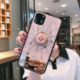 For Iphone 11 Case Luxury Diamond With Ring Stand Gold protective back cover case for iphone 11 Pro Max iphone11 11Pro - Expressdeal.net