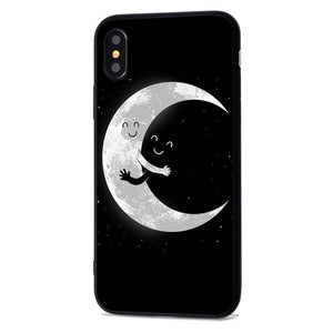 Space Moon Astro For iphone 7 8 X naut Phone CaseCase For iphone 5 6 7plus XR XS Max - Expressdeal.net