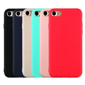 Silicone Matte Case For iPhone 11