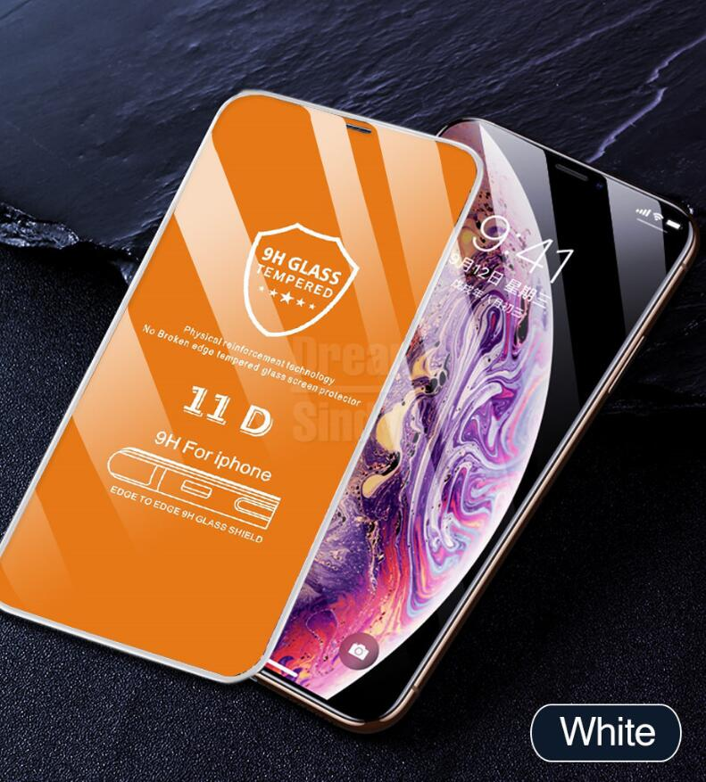 11D Curved Edge Protective Glass on the For iPhone 7 8 6 6S Plus Tempered Screen Protector For iPhone 8 7 6 6s Plus Glass Film - Expressdeal.net