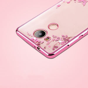 Rhinestones Soft TPU Plating Case For Huawei Honor 6A - Expressdeal.net