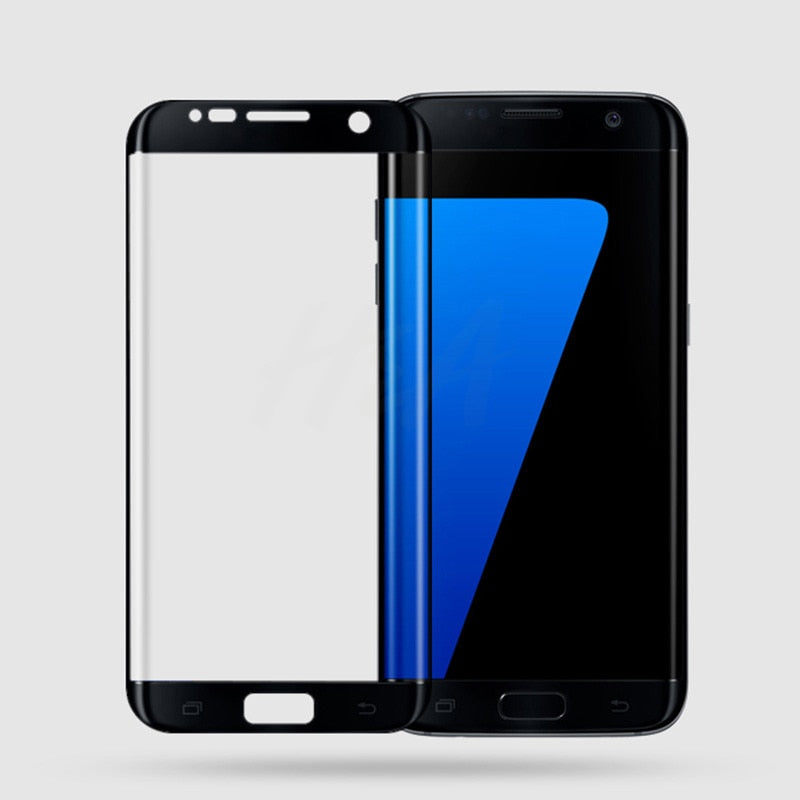 3D Curved Edge Tempered Glass on the For Samsung Galaxy S7 S6 Edge Screen Protector For Samsung S6 S7 Protective Glass Film - Expressdeal.net