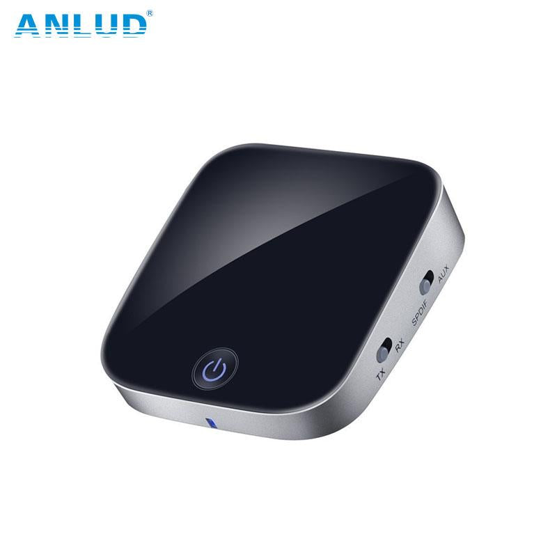 ANLUD Bluetooth Transmitter Receiver 2 In 1 Wireless Audio Adapter - Expressdeal.net