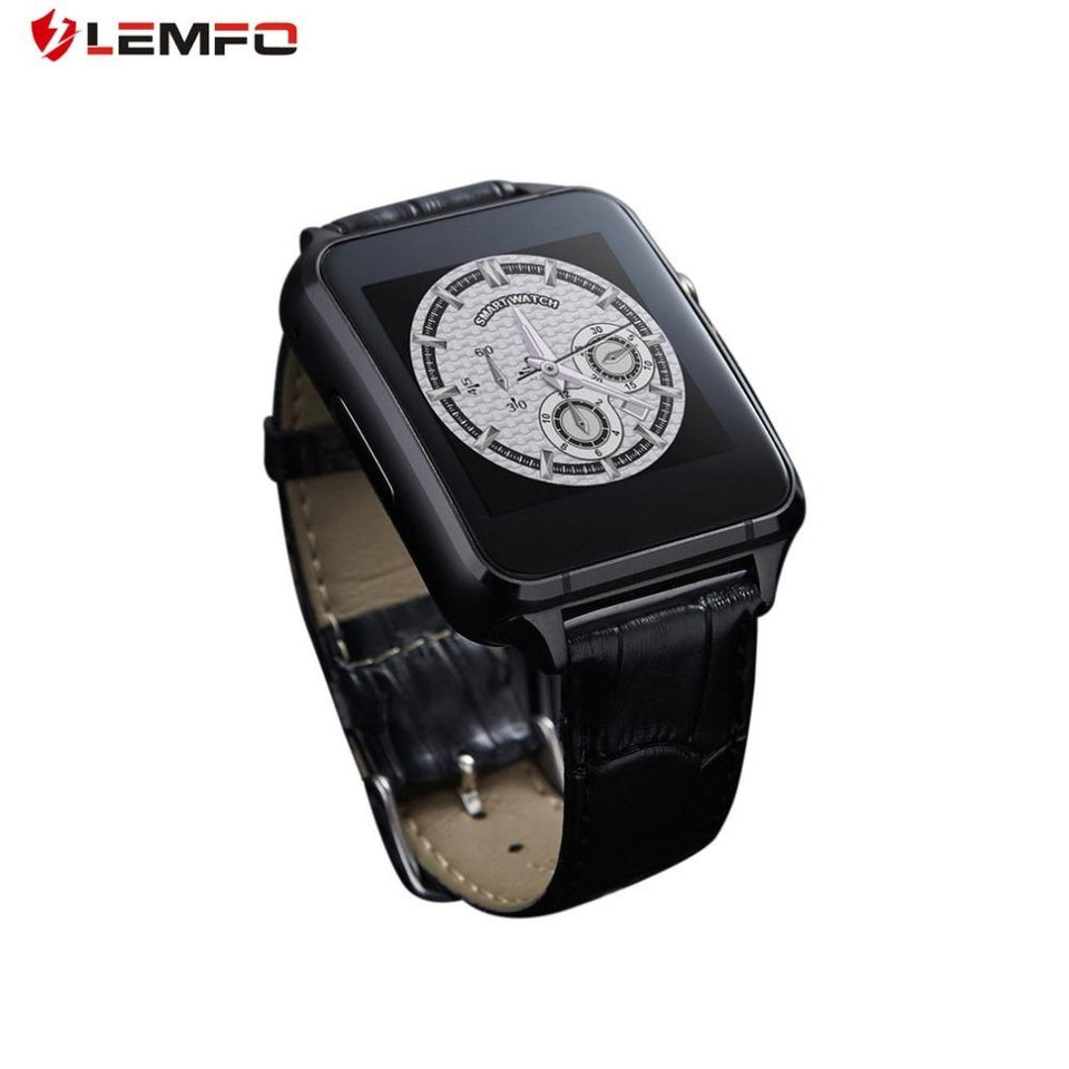 LEMFO X7 Smart Watch With Camera Bluetooth WristWatch SIM Card Smartwatch For IOS Android Support Multi languages pk xiaomi - Expressdeal.net