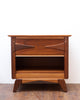 Refinished Mid Century Night Stand/Side Table, Gorgeous Design!