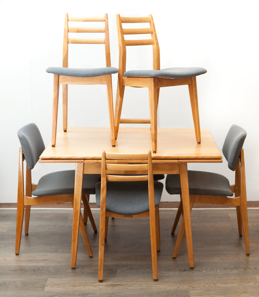 Fabulous Condo-Size Rare Mid Century Dining Set by Canadian Maker Imperial Furniture