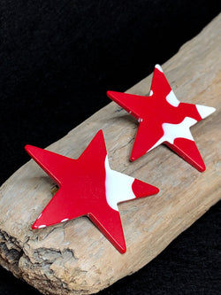 Vintage Martha Sturdy Star Earrings