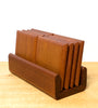 Vintage Solid Teak Coaster Set, Handmade, Beautiful Quality