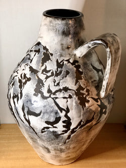 Huge Ceramic Vase by Gustav Sporri, 1963