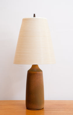 Gorgeous Lotte Bostlund Lamp, Rare Compact Size with Shade!