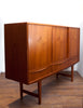 Gorgeous Mid Century Tall Teak Credenza by E.W. Bach of Denmark