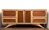 NEW ARRIVAL - Fantastic Mid Century Walnut/Elm Credenza, Completely Refinished