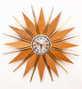NEW ARRIVAL - Fabulous Extra Large 1960s Starburst Clock by Phinney Walker