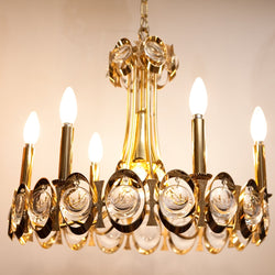Absolutely Stunning Vintage Chandelier by Palwa of Germany