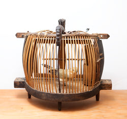 Antique Chinese Bird Cage, Beautifully Crafted