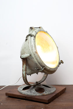 Amazing Vintage Search Light Turned Floor/Table Lamp