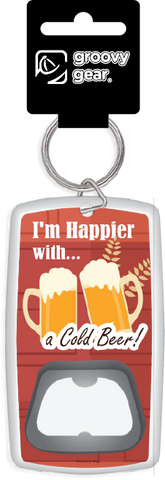 Lifestyle: I'm Happier with a Cold Beer (Opener), 8859194811563