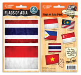 Bag Bling - Flags of Asia  Pack, 885919480-2196