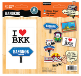 Bag Bling -Bangkok Sticker Pack, 885409300-8373