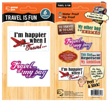Bag Bling - Travel is Fun Pack, 885409300-8458