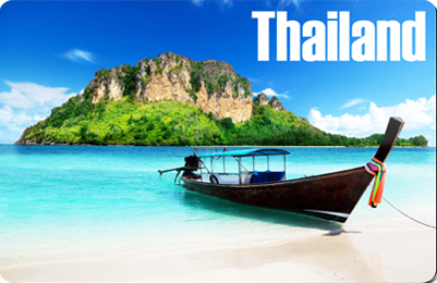 Longtail Boat Thailand, 8854093005037