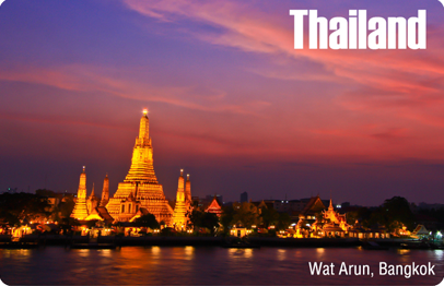 Bangkok : Wat Arun at Night, 8854093005129
