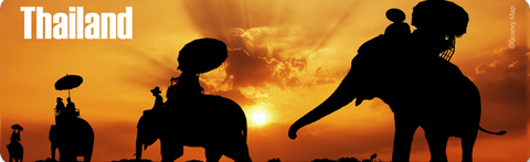 Thailand PML: Elephant Silhouettes at Sunset (Long), 8854093005167