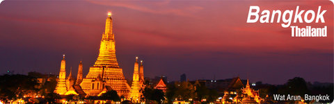 Bangkok : Wat Arun at Night (Long), 8854093005204