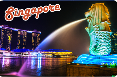 Merlion Park Night, 8854093009844