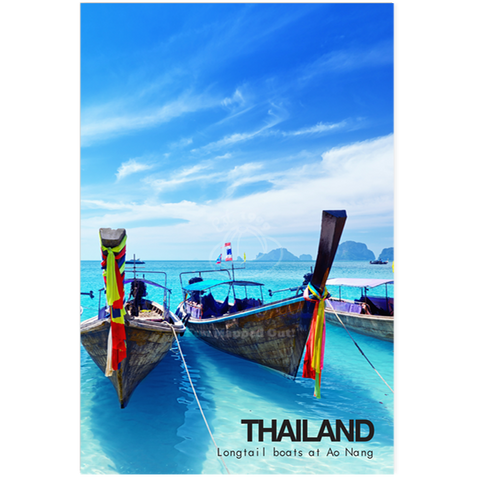 Thailand - Boats and Sea (PC), 8859194801472