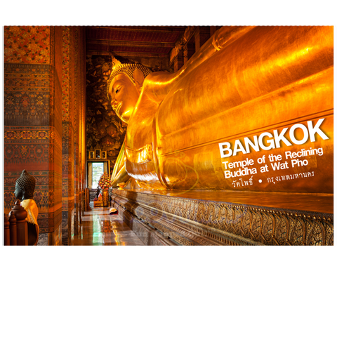Bangkok: Sleeping Buddha (PC), 8859194801595